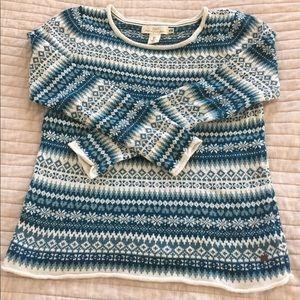 H&M snowflake sweater